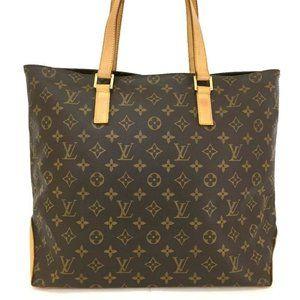 Auth Louis Vuitton Cabas Mezzo Shoulder #6618L37